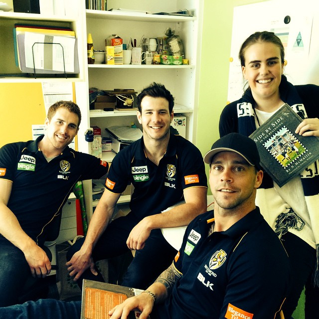 The Richmond Boys Create A Roar In the Children's Cancer Centre!