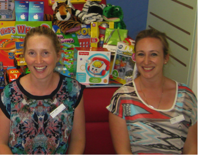 Karen Jolly and Liz Virgo – procedural pain and play therapists at Monash Children's Hospital