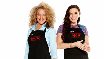 Camilla Counsel (right), KOALA Kids intern, is one of the Victorian contestants in this season's My Kitchen Rules, Channel 7 after the tennis.
